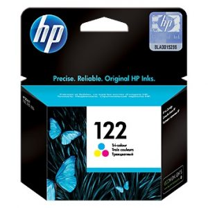 ראש דיו מקורי צבעוני HP 122 CH562HE